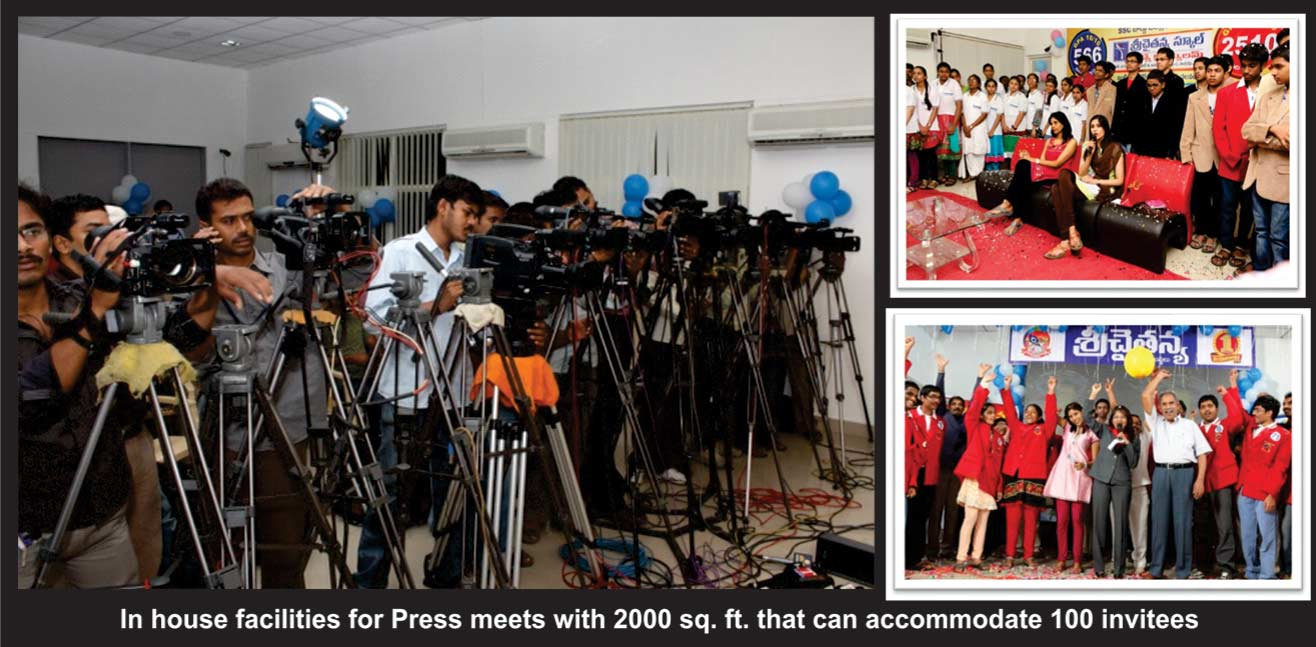 House Facilities for Press Meets