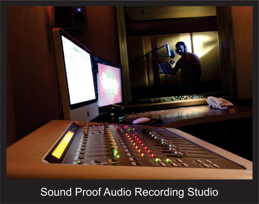 Sound Proof Audio Recording Studio
