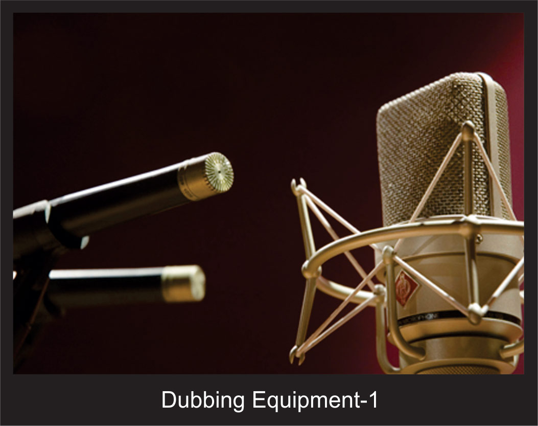 Dubbing Equipment - 1
