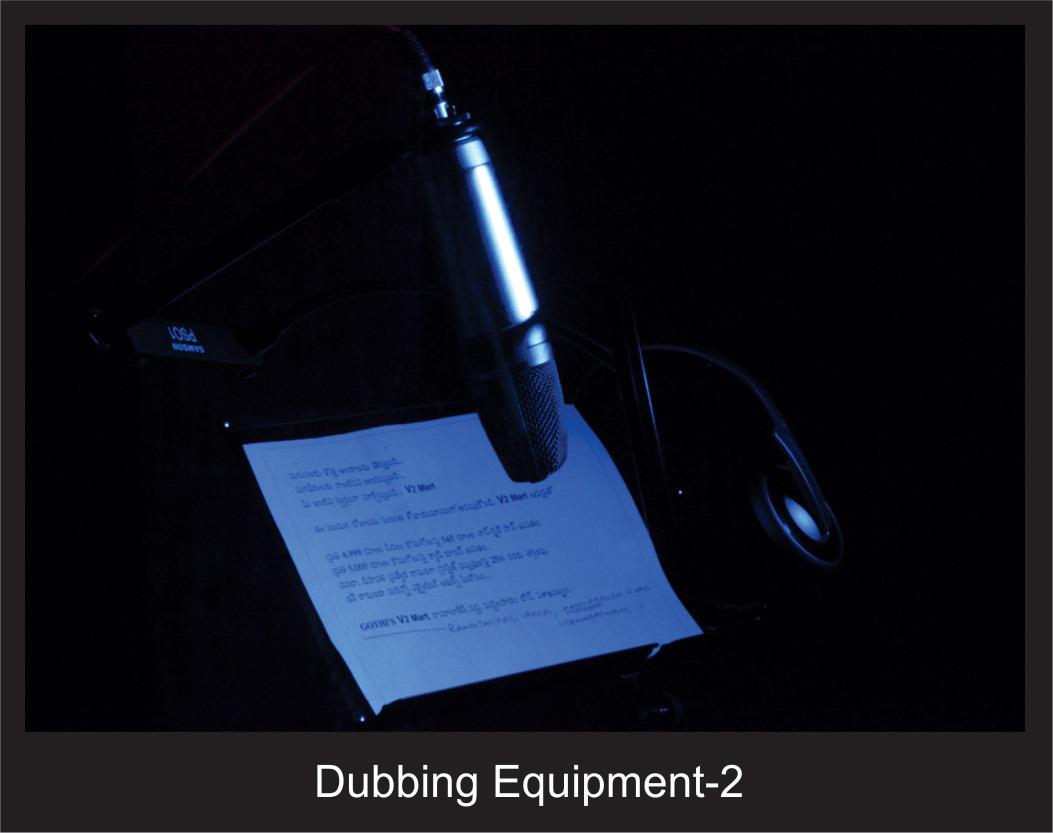 Dubbing Equipment - 2