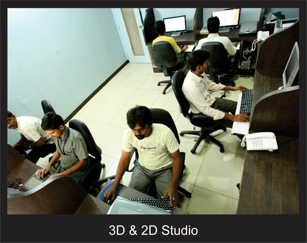 3D & 2D Studio